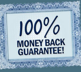 No Questions Asked Money Back Guarantee