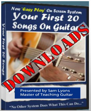 Play Your First 20 Songs on Guitar