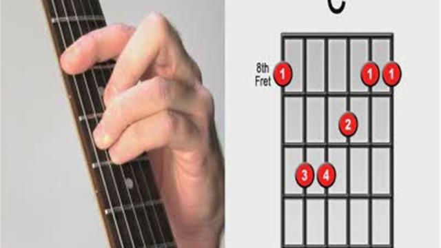 Barre Chords Make Them Easier To Play