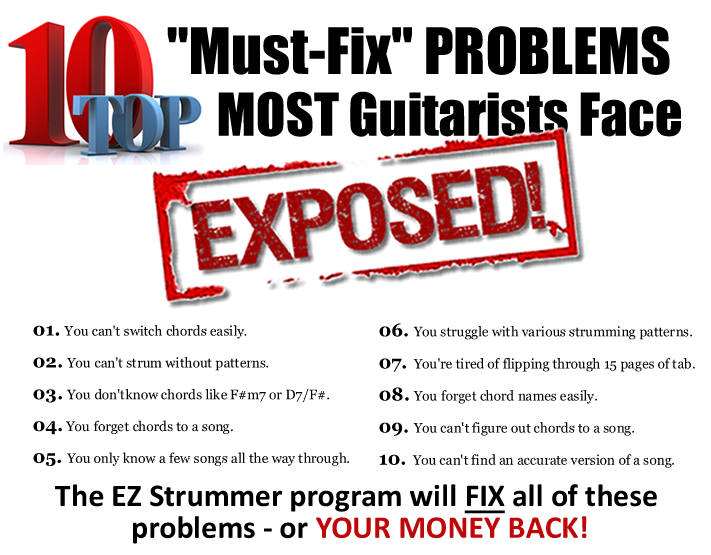 TOP_10_MUST FIX PROBLEMS MOST GUITARIST FACE